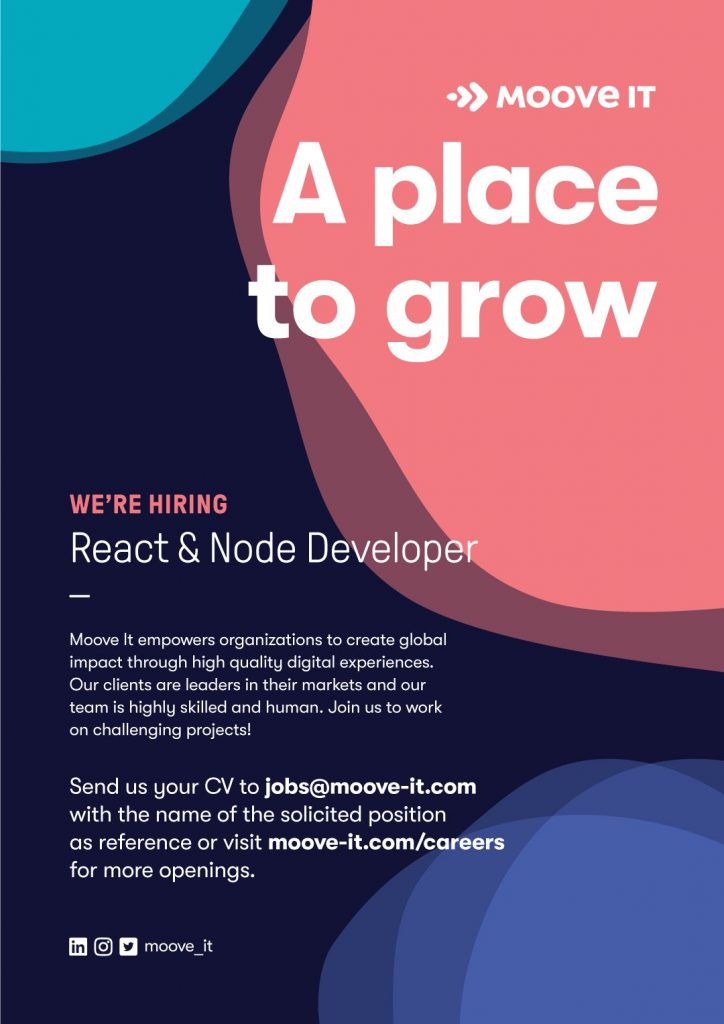 react and node developer