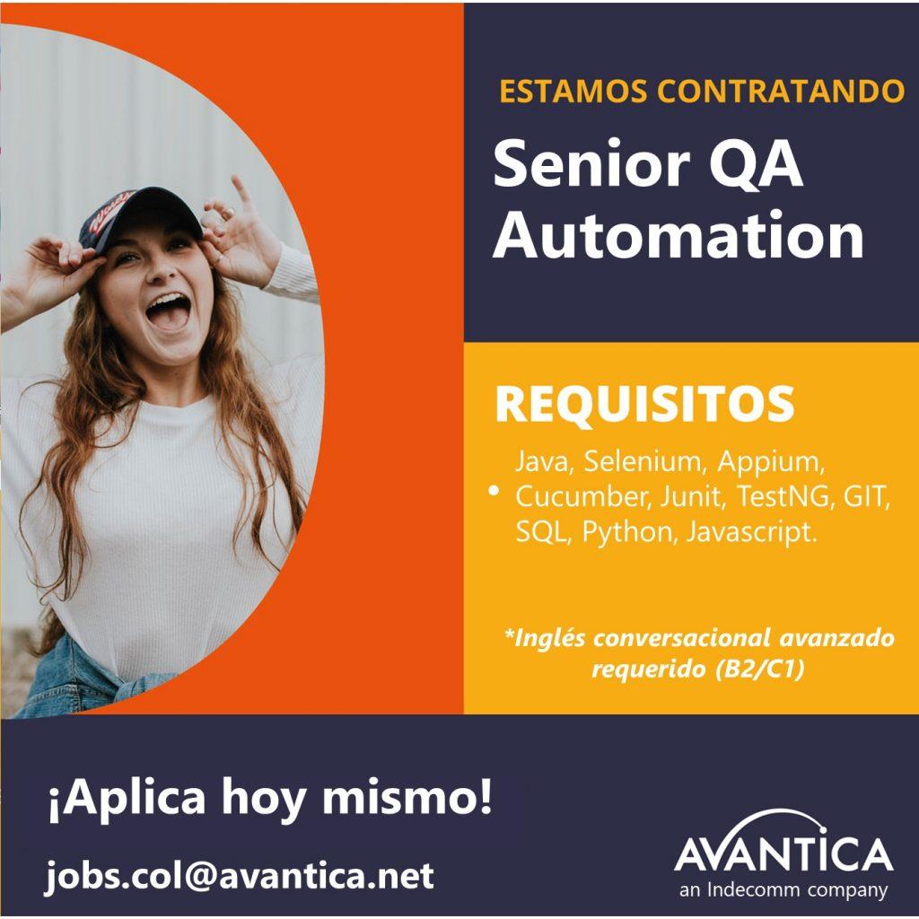 Senior QA Automation