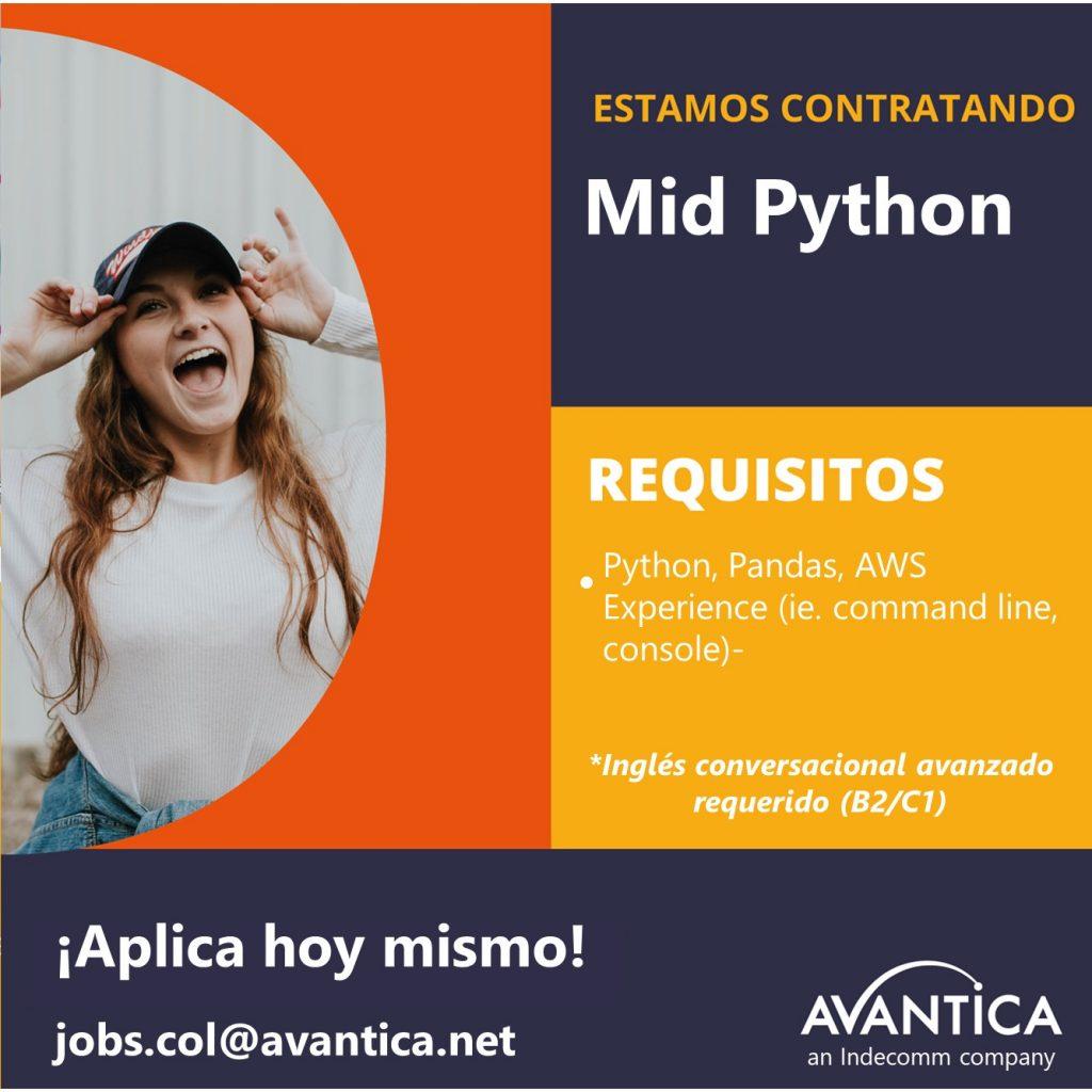Mid python